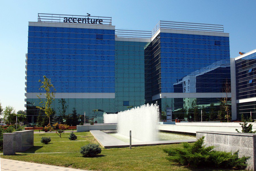 Accenture at West Gate Park