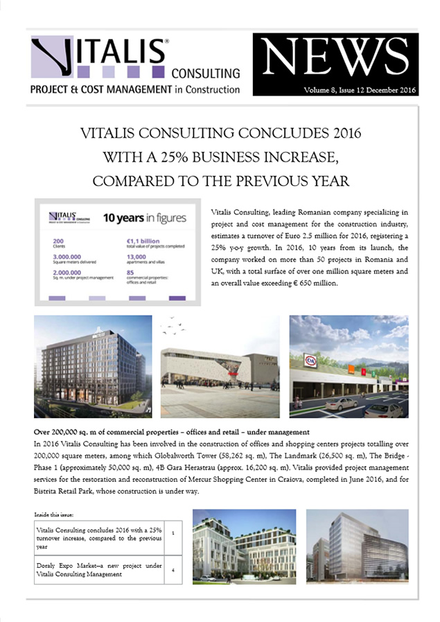 Vitalis News, Volume 8, Issue 12