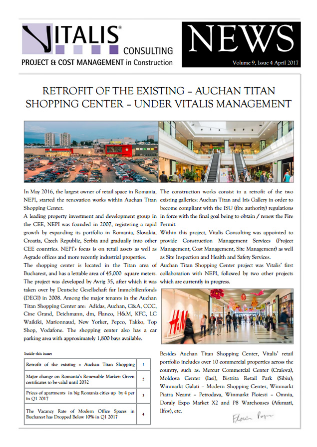Vitalis News - Volume 9, Issue 4