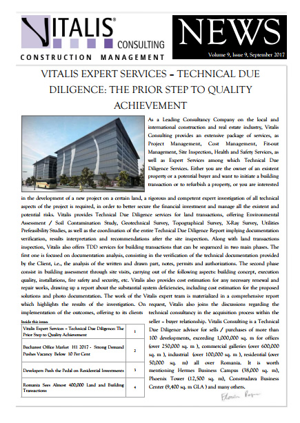 Vitalis News - Volume 9, Issue 9