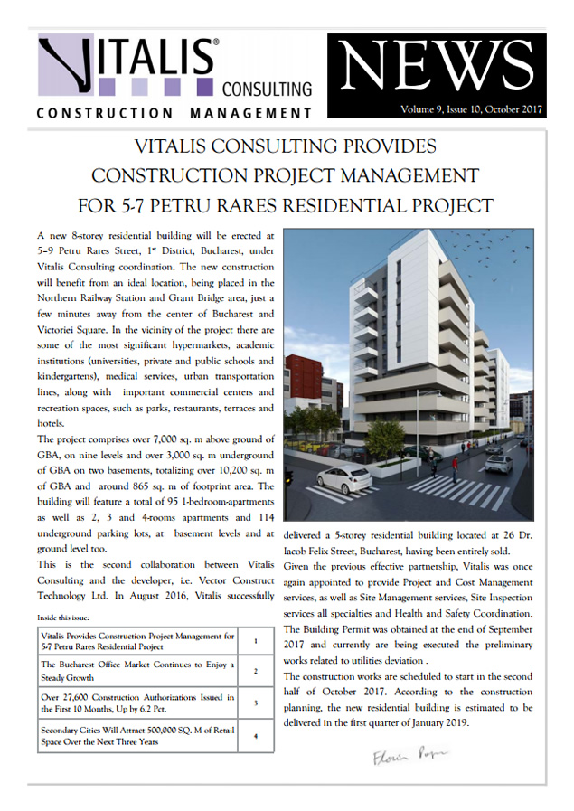 Vitalis News - Volume 9, Issue 10